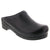 BJORK 715806-2-43 BJORK Men's STEIN Open Back Cabrio Leather Clogs Black / EU-43