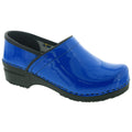 BJORK 757406-30-36 BJORK PRO ELSA Blue Patent Leather Clogs Blue / EU-36