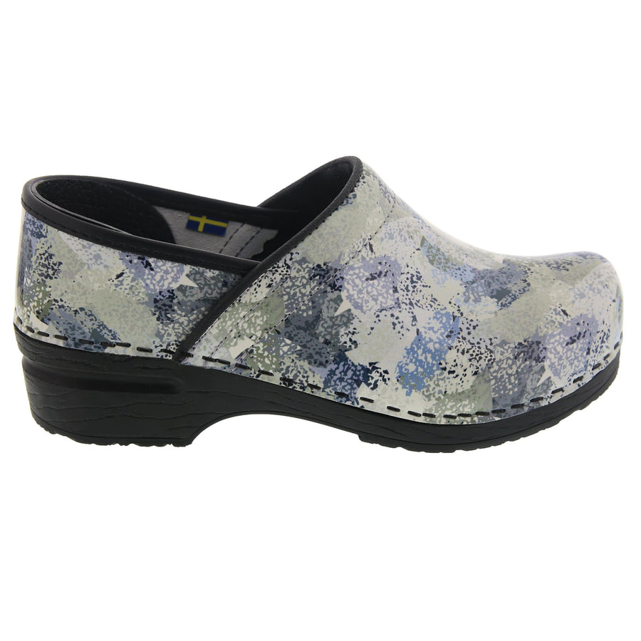 BJORK BJORK PROFESSIONAL Abby Leather Clogs