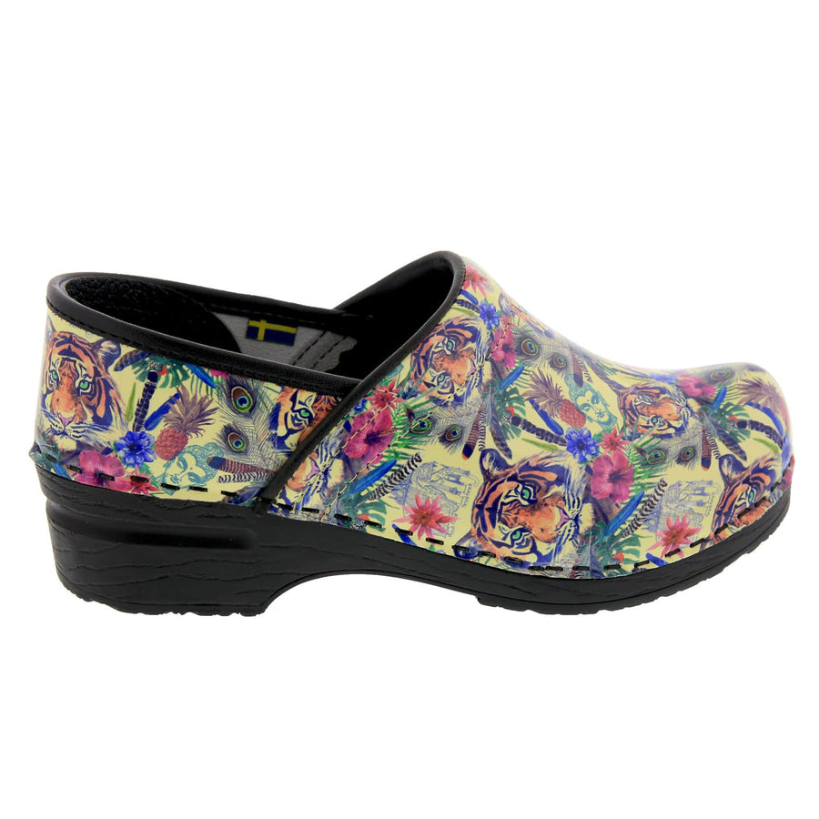BJORK BJORK PROFESSIONAL Matahari Leather Clogs