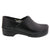 BJORK BJORK PROFESSIONAL Men's Black Cabrio Leather Clogs