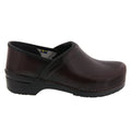 BJORK BJORK PROFESSIONAL Men's Bordeaux Cabrio Leather Clogs