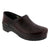 BJORK 757806-47-40 BJORK PROFESSIONAL Men's Bordeaux Cabrio Leather Clogs Bordeaux / EU-40