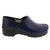 BJORK BJORK PROFESSIONAL Men's Navy Cabrio Leather Clogs