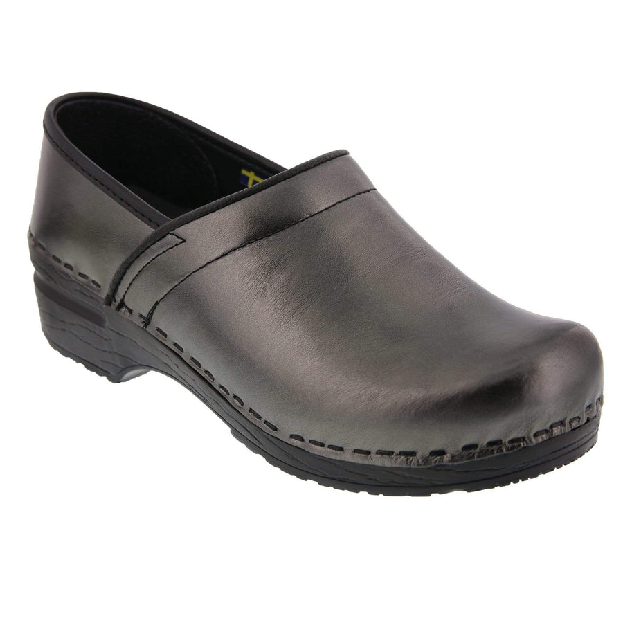 BJORK 757876-56-36 BJORK Professional Mia Metallic Leather Anthracite / EU-36