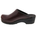 BJORK BJORK STELLA Open Back Cabrio Leather Clogs