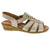 Confortissimo 604-928-40 CONFORTISSIMO Rema Open-toe Wedge Sandal Sand / EU-40