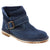 Creeks 453-246-36 CREEKS Connie Suede Bootie Blue / EU-36