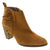 Creeks 656-240-36 CREEKS Grace Suede Bootie Brown / EU-36