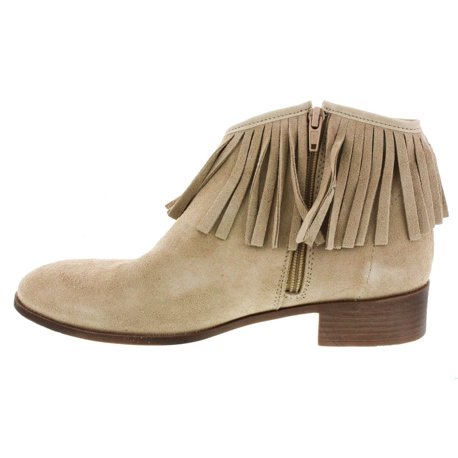 Creeks CREEKS Journey Suede Western Bootie<br>Suede - Made in Spain