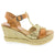 Creeks CREEKS Tessa Open-toe Wedge Sandal