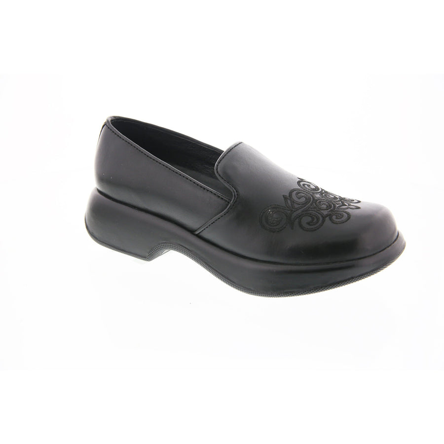 Dansko Dansko_limited_tiffany_blk-38 Dansko Golden Gate Tiffany Black Leather Shoes Black / EU-38