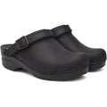 Dansko DANSKO Ingrid Oiled Leather Open Back Clogs
