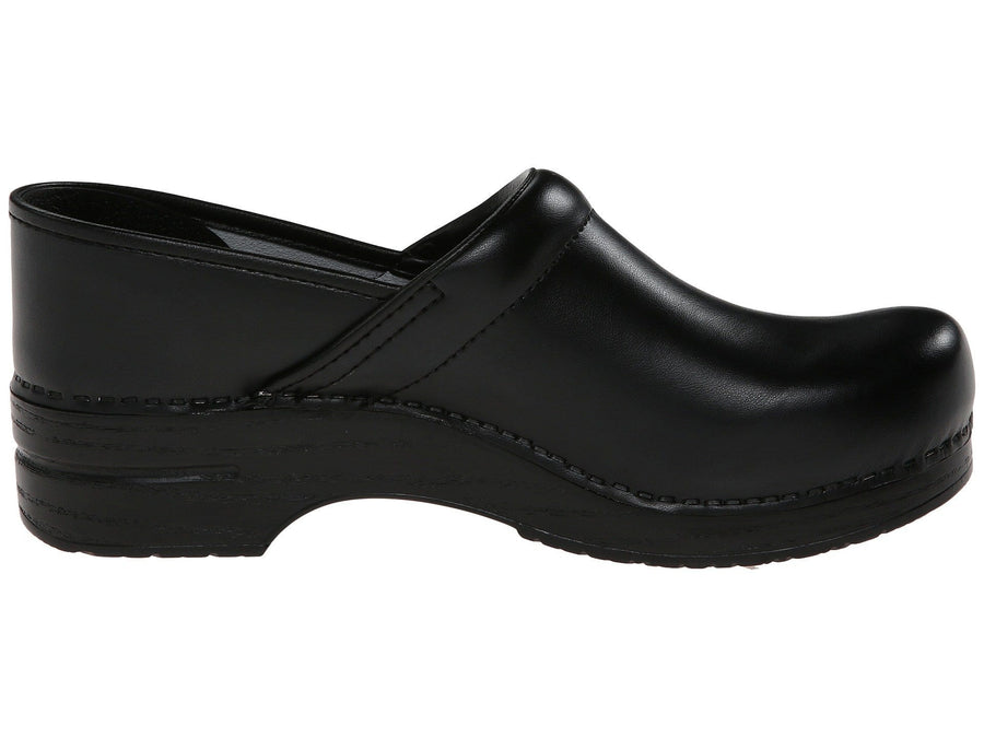 Dansko 006020202-40 DANSKO Men's Professional Black Box Leather Clogs Black / EU-40