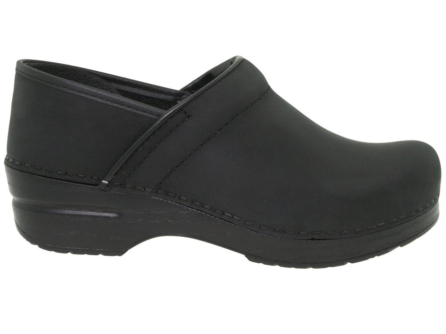 Dansko 206020202-36 DANSKO Professional Black Oiled Leather Clogs Black / EU-36
