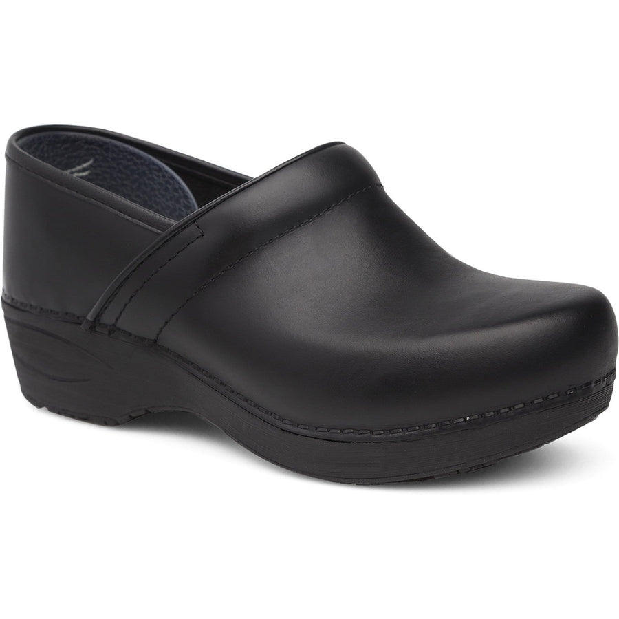 Dansko 3959100202-36 DANSKO WIDE XP 2.0 Black Pull Up Leather Clogs Black / EU-36