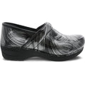 Dansko DANSKO XP 2.0 Pewter Brush Patent Leather Clogs
