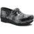 Dansko 3950970202-36 DANSKO XP 2.0 Pewter Brush Patent Leather Clogs Multi / EU-36