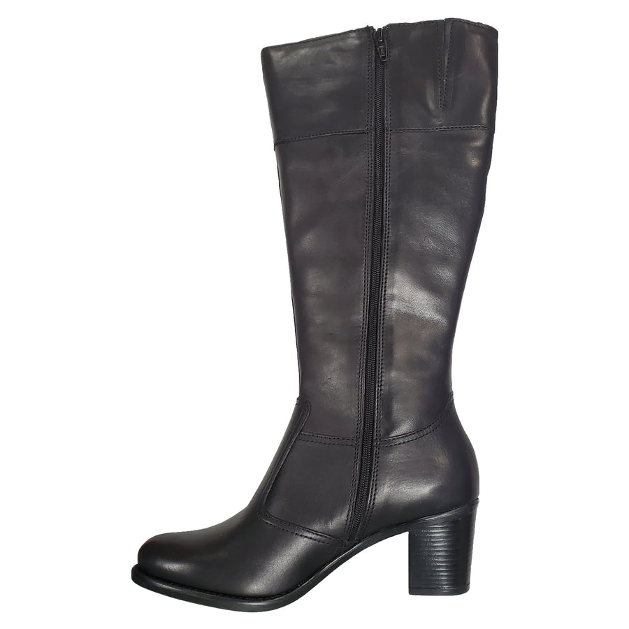 Di Fontana Di Fontana Tall Black Leather Boots