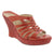 "Dromedaris Aminah-sandal-red-40 DROMEDARIS Sample Sale - High Heel Fashion Leather Sandals Group ""A"" - Save Over 75% Off Alima / Red / EU-40"