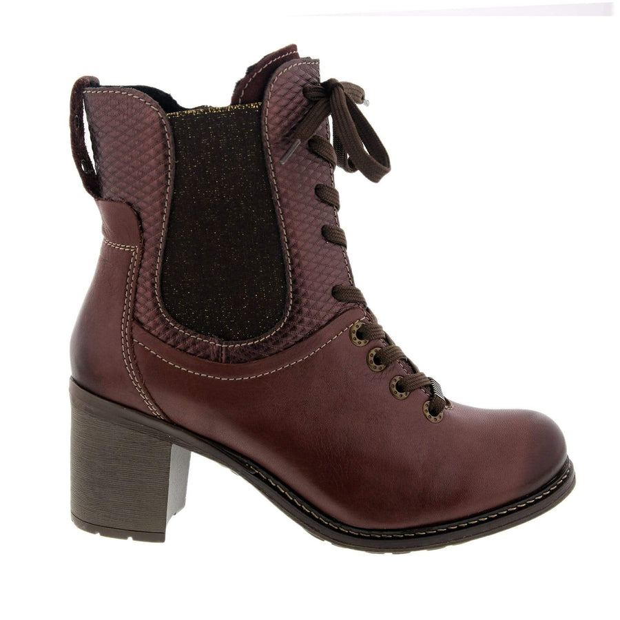 Dromedaris Hayley -boot-burgundy-38-boot-black-39 DROMEDARIS Haley Burgundy / EU-38
