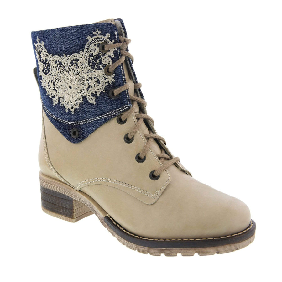 Dromedaris Kara-boot-taupe denim-38 DROMEDARIS Kara EU-38 / Taupe Denim