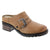 Dromedaris Karina-shoe-saddle-37 DROMEDARIS Sample Sale - Mid-heel Leather Shoes - Over 75% OFF Karina / Saddle / EU-37