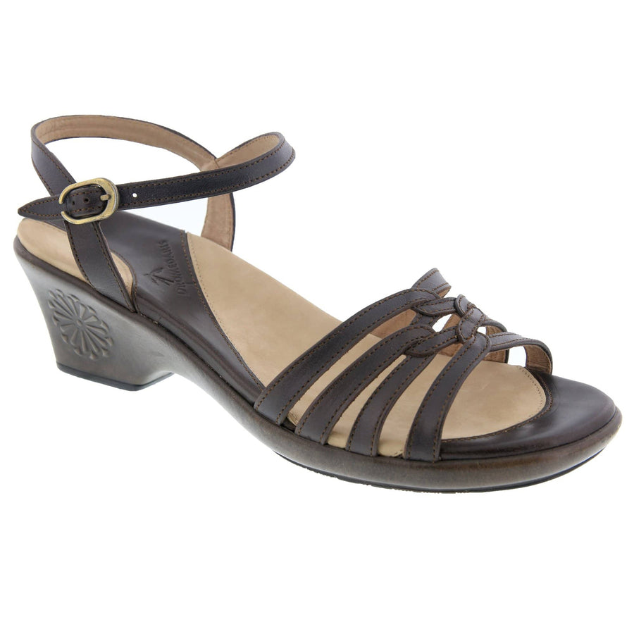 Dromedaris Sabirah-sandal-brown-38 DROMEDARIS Sabirah Brown / EU-38