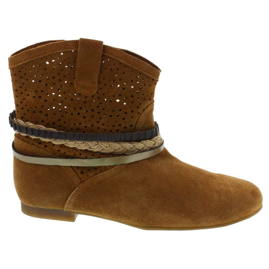 Creeks Etta Bootie * Genuine Suede * Made in Spain *