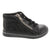 FOSCO 100-009-22 FOSCO Kids Marlee Leather Bootie Black / EU-22