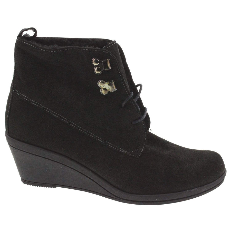 IXOO IXOO Mag Lace-up Suede Bootie