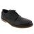 La Halle 1411100465-41 LA HALLE Alfonso Men's Leather Oxford Black / EU-41