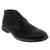 La Halle 1411173205-41 LA HALLE Men's Manolo Chukka Boot Black / EU-41