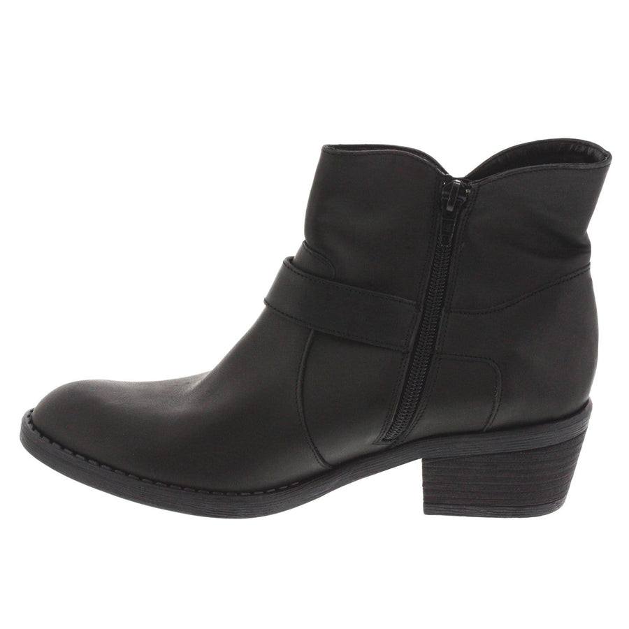 La Halle LA HALLE Sarah Leather Bootie