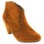 MTNG 0212PCOI-264-36 MTNGCielo Western Bootie-Size 36 only Rust / EU-36