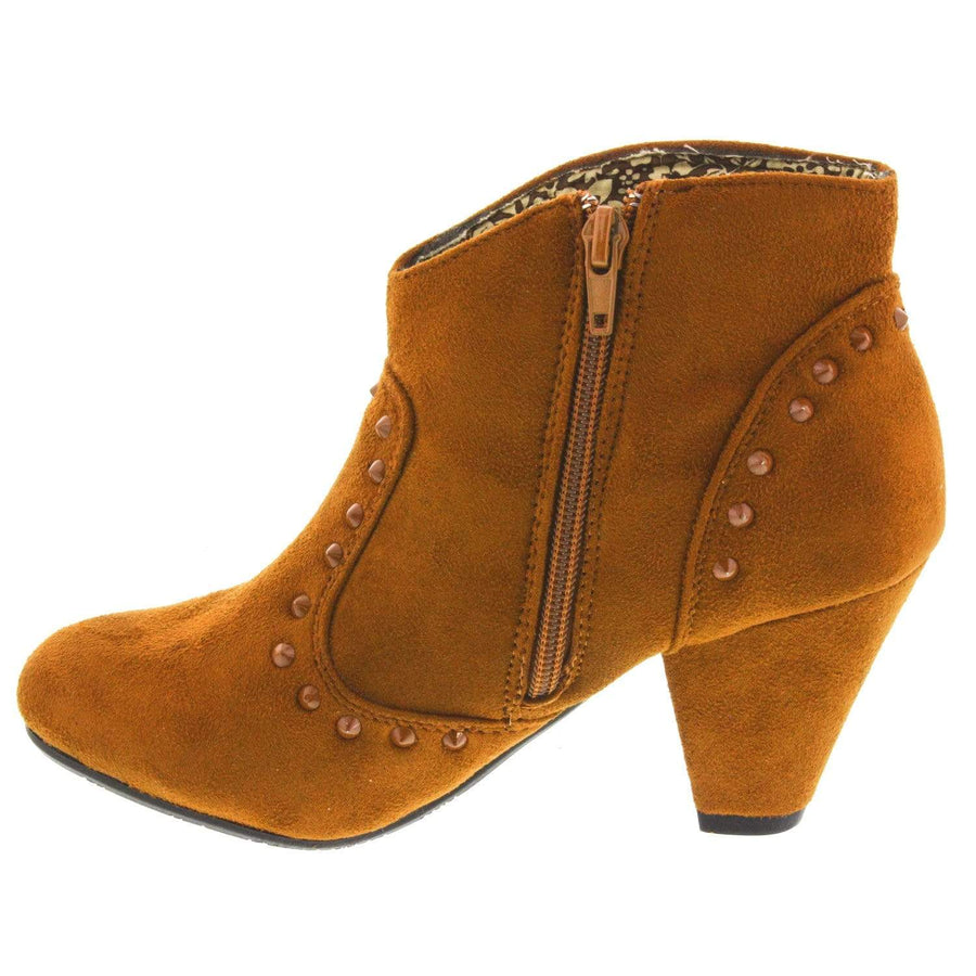 MTNG 0212PCOI-264-36 MTNG  Cielo Western Bootie-Size 36 only Rust / EU-36