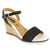 MTNG 177-343-36 MTNG Oaklee Wedge Sandal Black Multi / EU-36