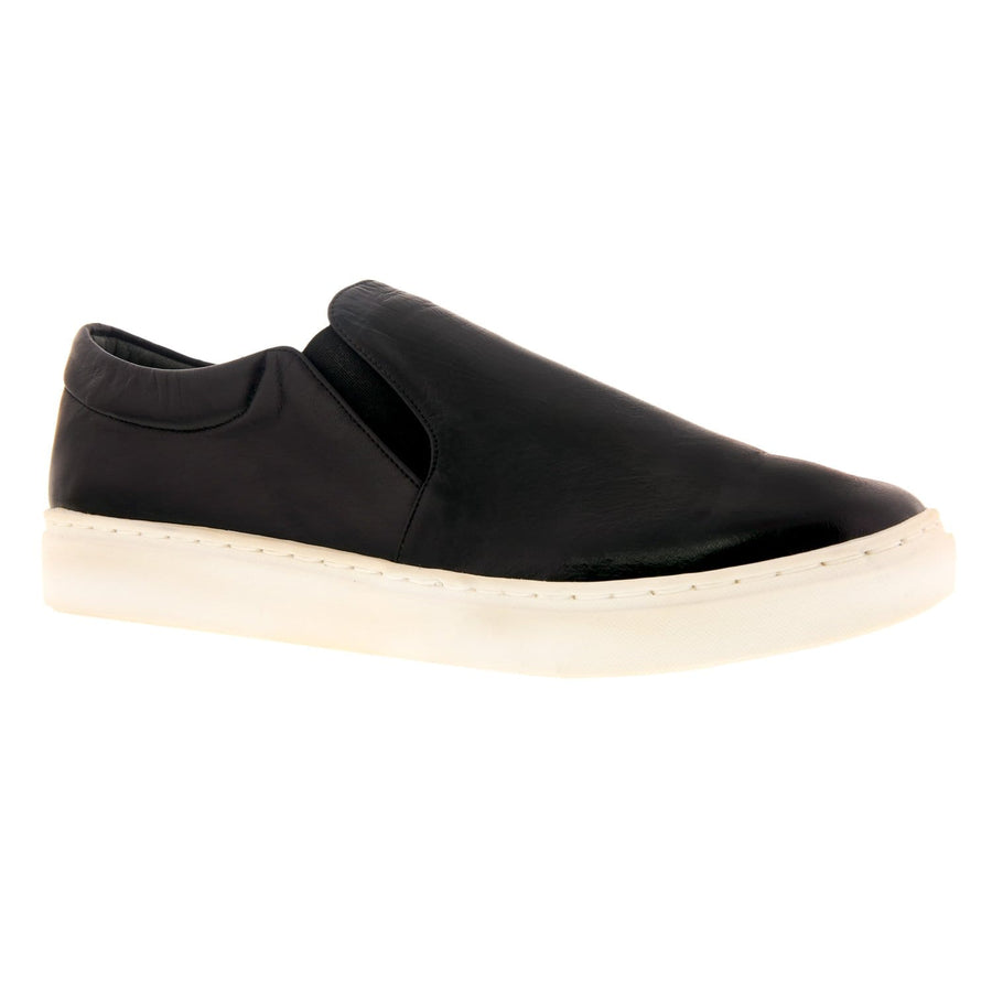 Nadia Noshie 410101-18-36 NADIA NOSHIE Kinley Leather Slip-On Shoe Black / EU-36