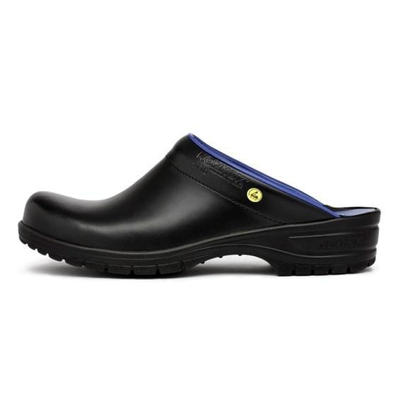 NOK NOK X241509110-2-36 NOK NOK Scandinavian Open Back Clogs 9110 ESD Black / EU-36