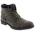 NYC 1406570447-40 NYC Men's Hugo Lace Up Combat boot Grey / EU-40
