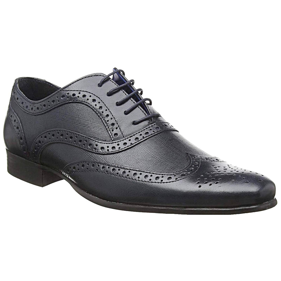 Red Tape MK05856808-41 Red Tape Carn 2 Men's Leather Brogue Shoes Navy / EU-41