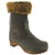 Sanita 456499-64-37 SANITA Bark Leather Boot Olive / EU-37