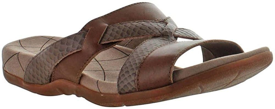 Sanita 465306-3-38 SANITA Cecilia Flat Sandals, Brown Size EU-38 Only Brown / EU-38