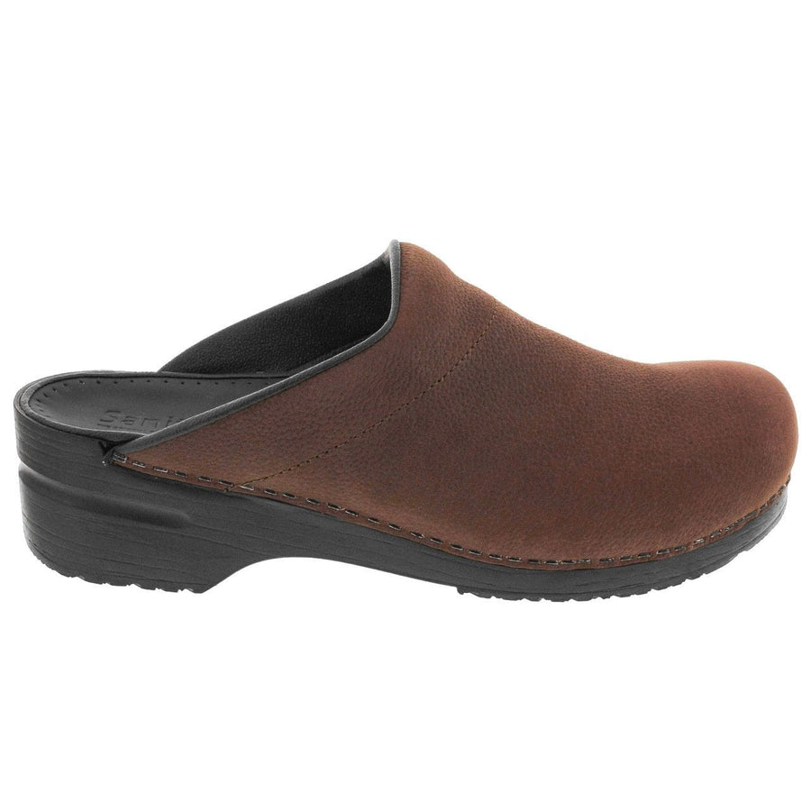 Sanita SANITA KARL MEN'S Open Back Clogs in Oiled Leather (2nd)