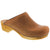 Sanita X761200009K-15-25 SANITA Kid's Wood Catrine Open Back Leather Clogs (2nd) Cognac / EU-25