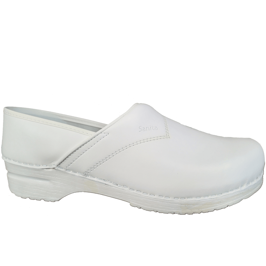 Sanita X15000313-1-48 SANITA Men's Professional Sanflex PU Leather (2nd) White / EU-48