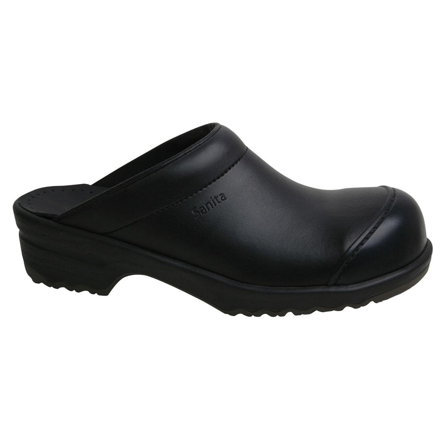 Sanita X1501078-2-40 SANITA Men's San-Nitril Occupational Work Open Back Clog (2nd) Black / EU-40 / Medium