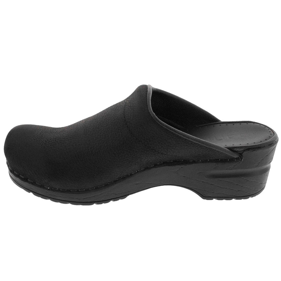 Sanita SANITA SONJA Open Back Oiled Leather Clogs (2nd)
