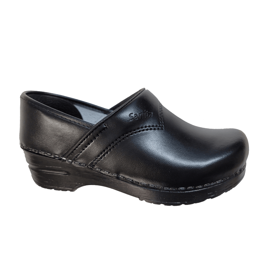 Sanita X1500313-2-35 SANITA Women's Professional Sanflex PU Black Leather (2nd) - Size EU-35 only Black / EU-35