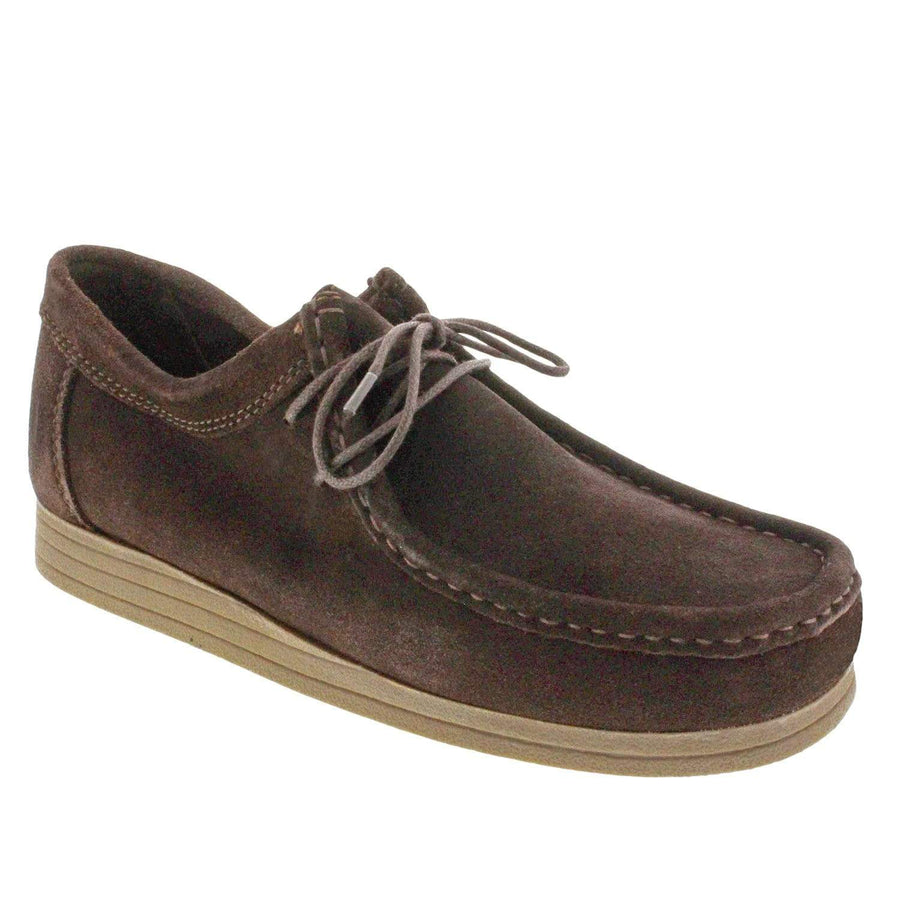 Trappeur 1411233424-40 Trappeur Men's David Suede Chukka Walking Shoes Brown / EU-40